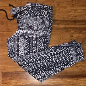 Loft Tribal Printed Joggers